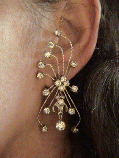 waterfall earring